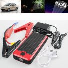 12000 mAh 12V Car Jump Starter Emergency Backup Power Bank Mobile Charger Kit  db