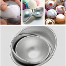 3 Pcs Bath Bomb Mould Ball Sphere Pan Cake Mold Baking Jelly Decorating Tool