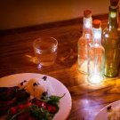 Cork Rechargeable Night Light Wine Bottle USB LED Lamp db