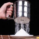 Durable Stainless Steel Mechanical Flour Sifter Sieve Shaker Icing Baking db