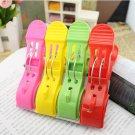 Clips Beach Towel Clips Plasatic Clips 4 Pcs Random Color