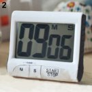 Large LCD Digital Kitchen Cooking Timer Count-Down Up Clock Loud Alarm DB