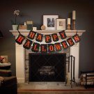 Happy Halloween Silhouett String Banner Party Decoration db