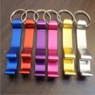 1 x Beer Beverage Bottle Can Opener Key Chain Ring Bar Tool Random Color