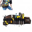 Professional Electrician DUTY Waist Tool Belt Bag Pouch Electrician Carpenter  db