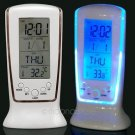Digital Backlight LED Display Clock Table Alarm Snooze Thermometer Calendar db