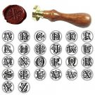 Classic Alphabet Initial Sealing Wax Seal Stamp Invitations Gift -One Pcs Letter M