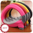 Durable Handler Carrying Shopping Bag Lift Ring Portable Carry Food Helper Tools Yellow Color x 1