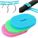 Nylon Clothes Rope Line Clothesline Outdoor camping trip 5M Random Color One Pcs