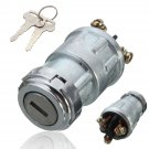 Universal Replacement Ignition Switch Lock Cylinder with 2 Keys for Car Auto db