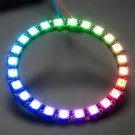 1 X  RGB LED Ring 24 Bit WS2812B 5050 RGB LED with Integrated Driver DB