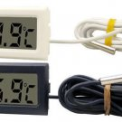 1 Pcs Digital LCD Thermometer for Refrigerator Fridge Freezer Temperature -50~110°c  Black  db