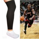2x Basketball Sport Compression Calf Stretch Brace Thigh Skin Protect Leg Sleeve db