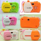 2 x Kids Children Baby Study Camera Take Photo Animal Learning Educational Toys One Pcs db