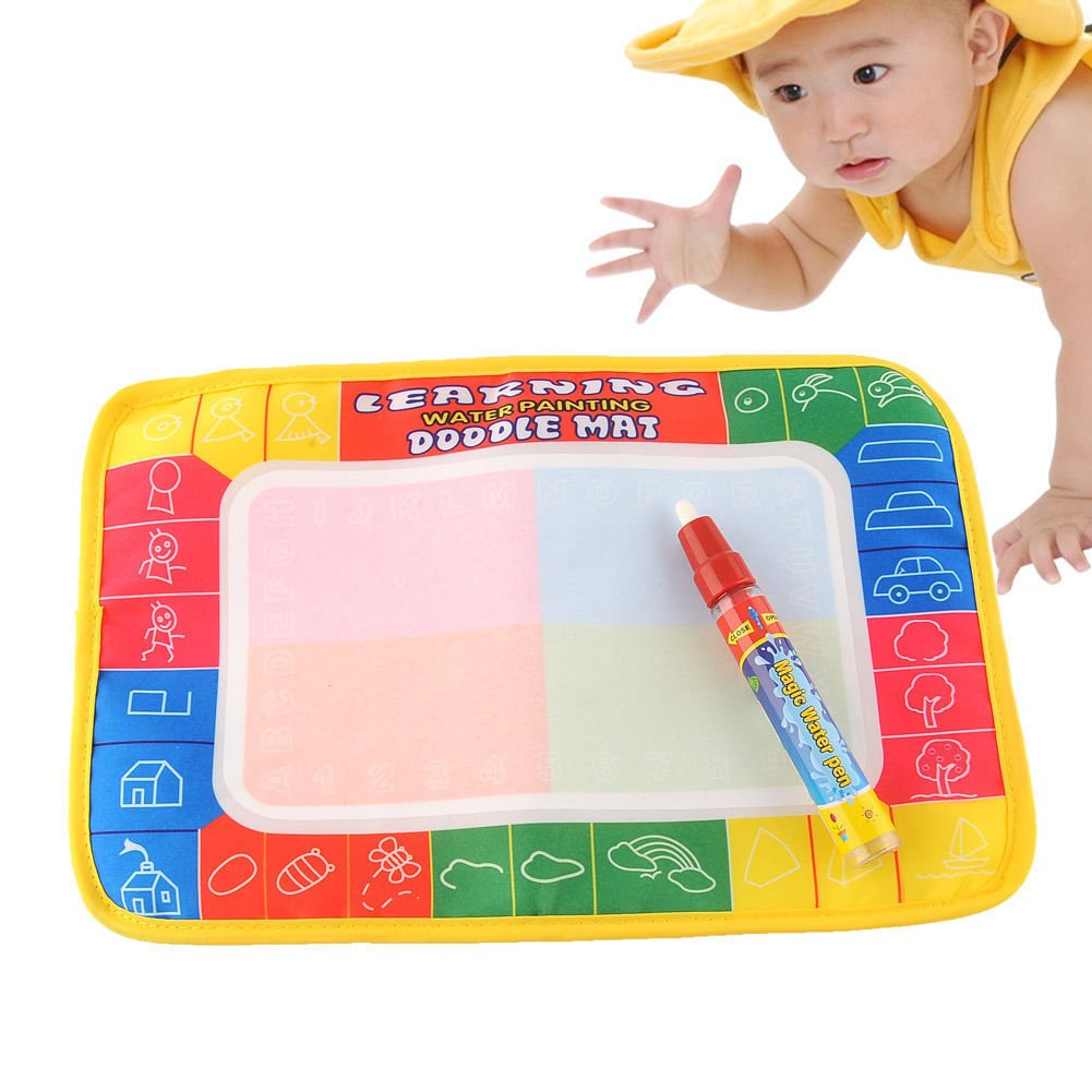 Develop Intelligence Painting Magic Pen Baby Toys Water Mat Drawing Kid Learning db