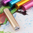 Golden Power Bank Backup External Battery Charger 18650 CASE for Phone Mobile DB