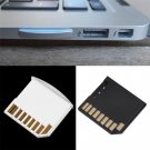 2 x Mini Short SDHC TF Card Memory Adapter Drive For Macbook Air Up to 64G White dbdb