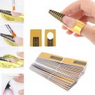 100pcs Nail Art Form Guide for Acrylic UV Gel Tips Extension Art Nail Tools db