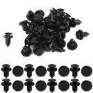 30 Pcs Nylon Replacement Bumpers Rivets Fasteners Clips for Mitsubishi DB