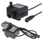 Ultra Quiet Mini DC 12V 1.5M 130 GPH Brushless Motor Submersible Water Oil Pump DB