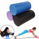 Gym Exercise Fitness Floating Point EVA Yoga Foam Roller Physio Trigger Massage Black Color 1 Pcs