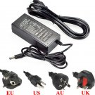 AC 85-245V To DC 12V 5A 60W Power Supply Adapter For Led Light Strip US Plug db