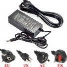 AC 85-245V To DC 12V 5A 60W Power Supply Adapter For Led Light Strip UK Plug db