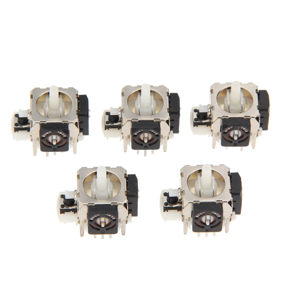 5pcs Replacement Analog Stick for Sony PS2 Microsoft Xbox360 Controller Grade A dbdb