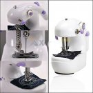 Portable Mini Handheld Electric Sewing Machine Desktop Home Household Sewing  DB