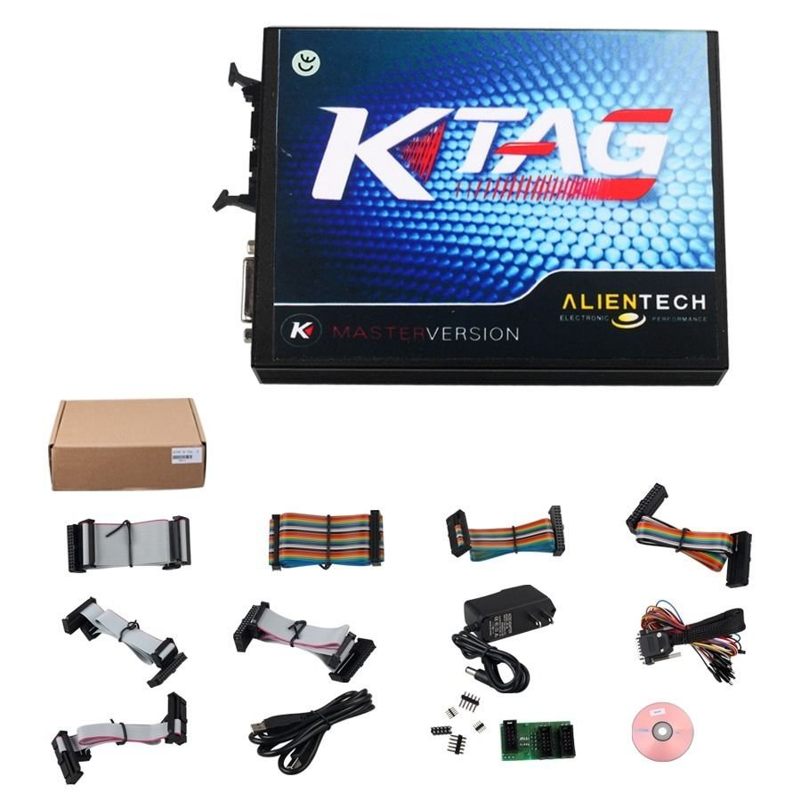 K-TAG V2.13 FW V6.070 ECU Programming Tool Master Version with Unlimited Token db