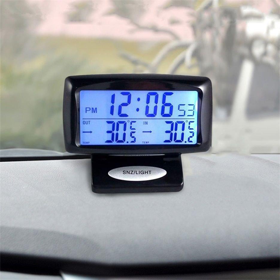 Multi-function Car Indoor Digital Thermometer Temperature Display Alarm LCD db