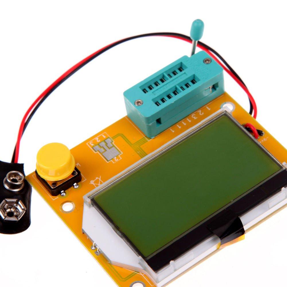 Mega328 Transistor Tester Diode Triode Capacitance ESR Meter MOS PNP/NPN DBDB