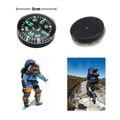 12pcs 20mm Mini Compasses for Camping Hiking Traveling Survival Outdoor DGH