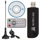 USB2.0 Digital DVB-T SDR+DAB+FM HDTV TV Tuner Receiver Stick RTL2832U+R820T ddddd