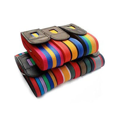 4.2m Suitcase Cross Luggage Strap Belt for Travel Baggage Secure Durable dfg