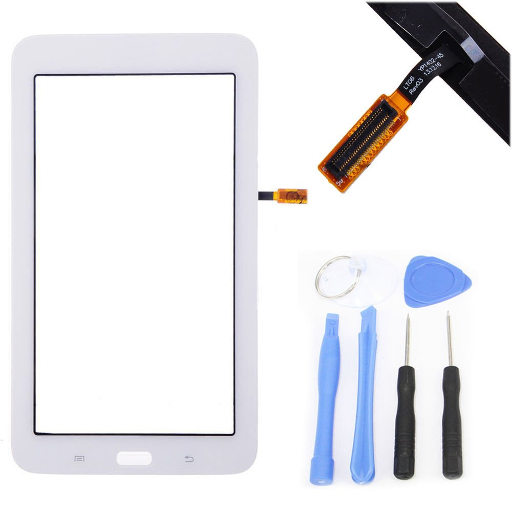 White Touch Screen Digitizer For Samsung Galaxy Tab 3 Lite 7.0 SM-T110 Wifi T110 new