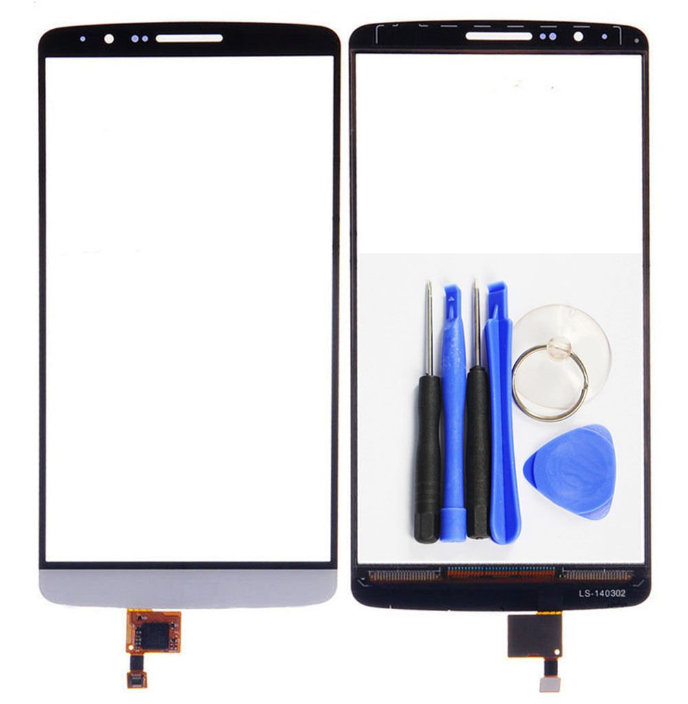 For LG G3 D850 D855 LS990 VS985 White Touch Screen Digitizer Replacement new