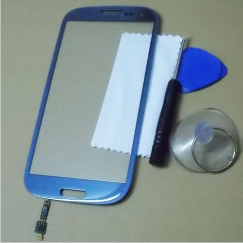 LCD Touch Screen Digitizer Lens Glass for SamSung Galaxy S3 S III i9300 Blue new