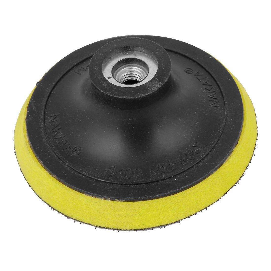 "100mm 4"" Dia Angle Grinder Sanding Polishing Hook & Loop Velcro Backing Pad db"