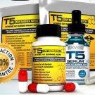 T5 FAT BURNERS POWER BUNDLE XT- STRONGEST SLIMMING / DIET PILLS +SERUM XT +PATCH DB