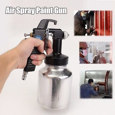 Airbrush Low Pressure Air Paint Spray Tool House Fence Painting Bleeder Type dbb