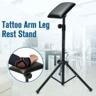 Height Adjustable Tattoo Tripod Stand Arm Leg Rest Studio Chair Sponge Pad Tool dbb