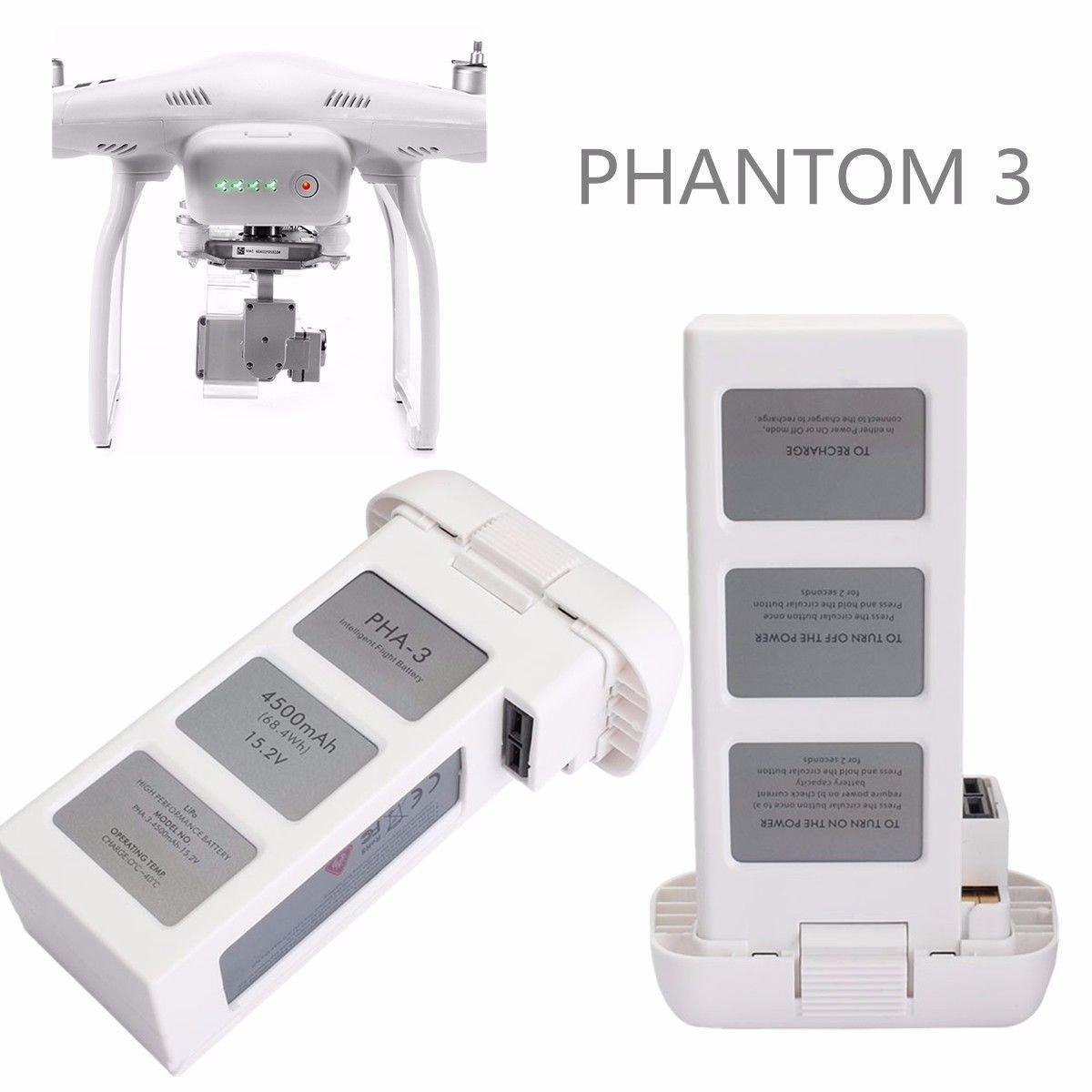 4500mAh 15.2V 4S Advanced Battery Intelligent Flight For DJI Phantom 3 Drone dbb