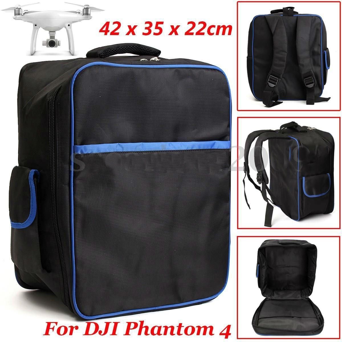 Waterproof Backpack Shoulder Bag Carrying Case For DJI Phantom 3 4 Quadcopter ddb