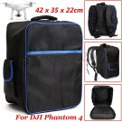 Waterproof Backpack Shoulder Bag Carrying Case For DJI Phantom 3 4 Quadcopter ddb