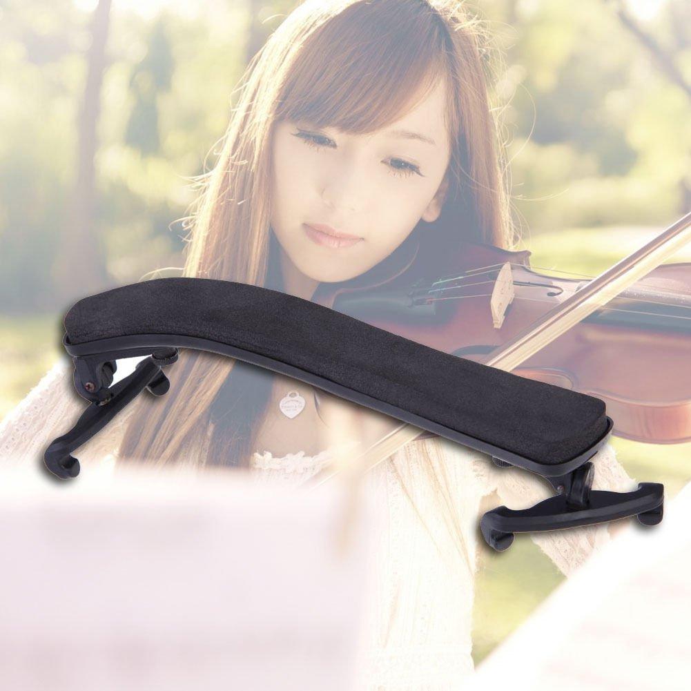 Pro Adjustable Shoulder Rest Pad Support For 3/4 4/4 Violin Height Angle dbd