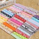 50Pcs 10x10cm Random Pattern Cotton Fabric Bundle Patchwork For Crafts & Sewing dbd
