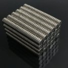 50 Pcs 4x2mm Neodymium Disc Super Strong Rare-Earth N50 Mini Fridge Magnets new