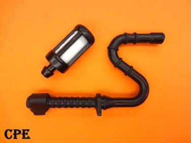 NEW FUEL GAS LINE HOSE WITH FILTER FOR STIHL 044 046 MS341 MS361 MS440 MS460 MS461 MS 361 440 460