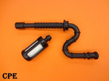 NEW FUEL GAS LINE HOSE WITH FILTER FOR STIHL MS 240, 260 & (LATE 024, 026) CHAINSAW